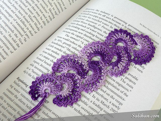 [Free Pattern] This Fan Bookmark Is An Excellent Gift For