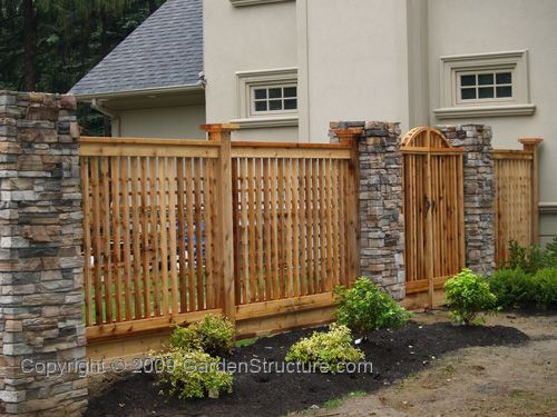fences wood and wire fences home exterior design ideas