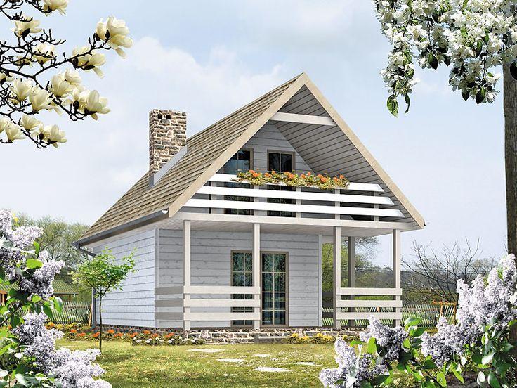 Poziomka_bal to mały, ale bardzo funkcjonalny dom letniskowy, który został zaprojektowany z myślą o licznej rodzinie, gronie znajomych, przyjaciół. Szczegóły projektu dostępne są na stronie: http://www.domywstylu.pl/projekt-domu-poziomka_bal.php. #poziomka #domywstylu #mtmstyl #projektygotowe #domyrekreacyjne #domyletniskowe