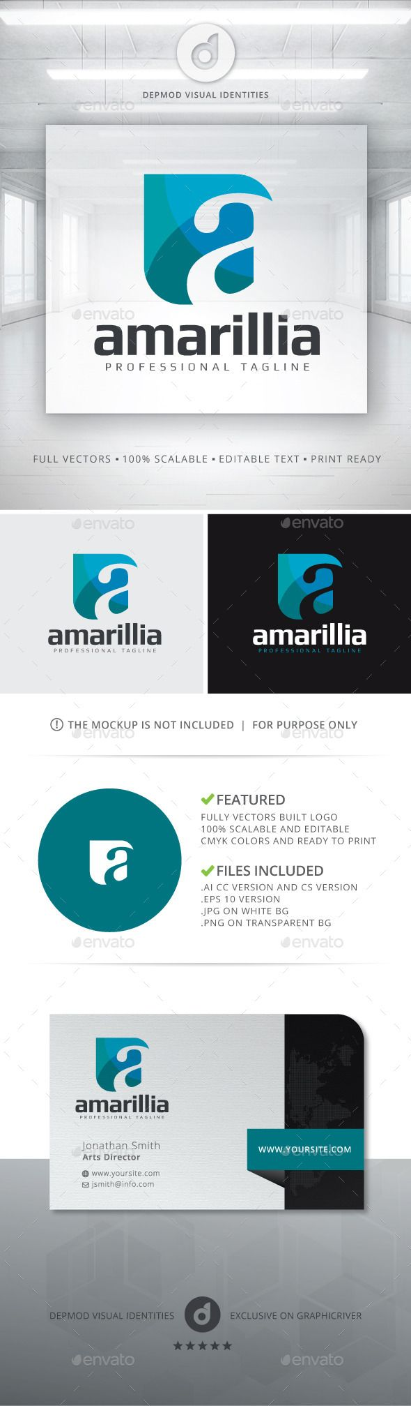 Amarilla Logo Proposal by Opaq Informations for this logo :Logo : Logo of a stylized «a» letter in mosaic shape.Specifications :- Vector based- Editable text- CM