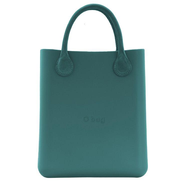 O chic handbag in petrol green #obag #ochic #handbags #white