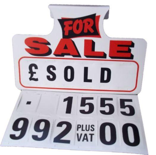 car sale signs - Pinarkubkireklamowe