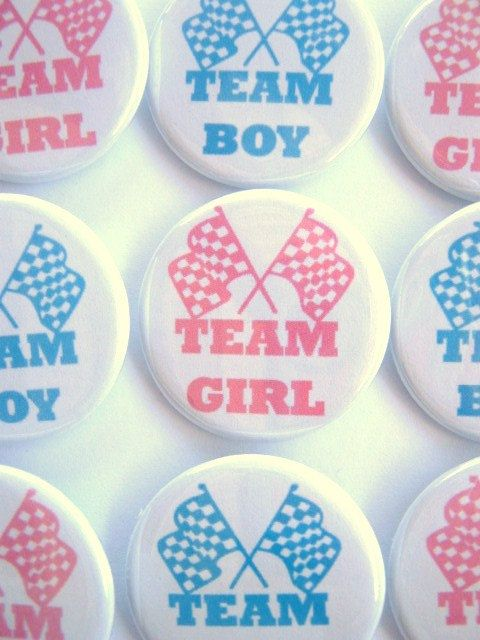 Gender Reveal Party Team Boy Team Girl  Party by PutOnYourPartyCap, $10.00