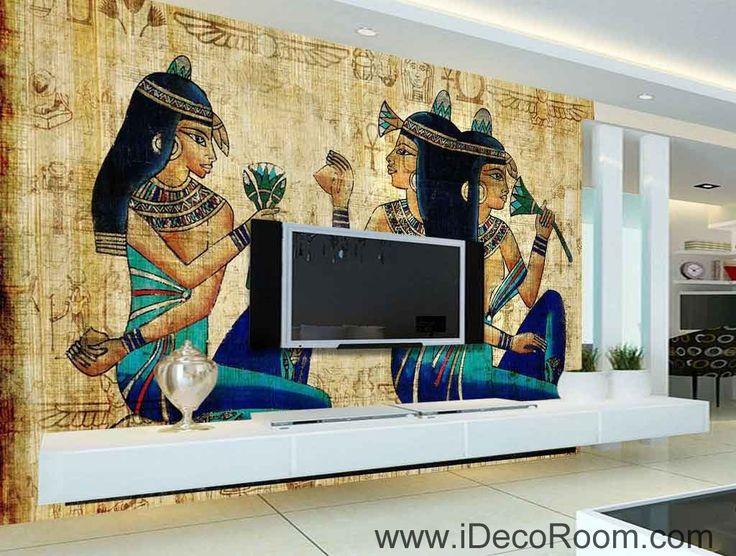 Egypt Ancient Egyptians IDCWP EG 06 Wallpaper Wall Decals Art Print Mural Home