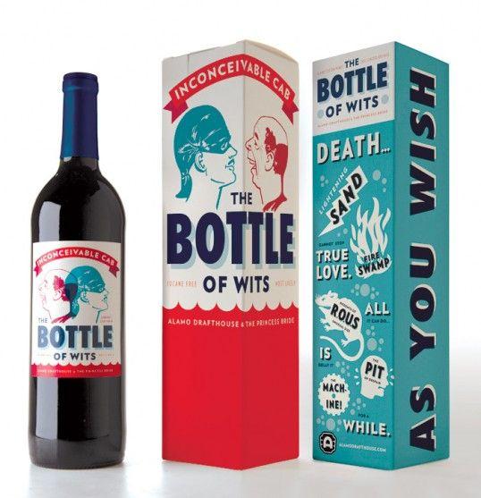 The Bottle of Wits: Bride Yes, Bride Bottle, Bride Themed, Bride Wine, Movie, Princess Bride, Bottle Design