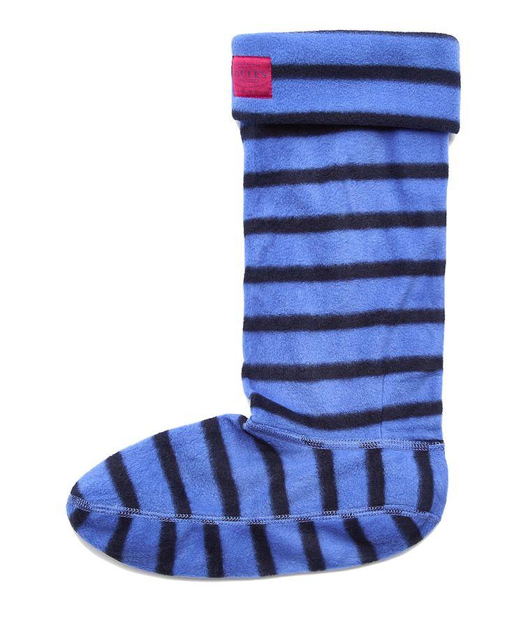 Loving this Marine & Navy Stripe Welly Sock - Women on #zulily! #zulilyfinds