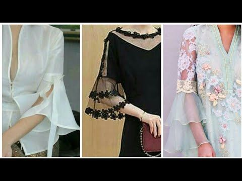9a6f81ace520 Stylish Sleeves Designs For Summer Dresses 2018 - YouTube
