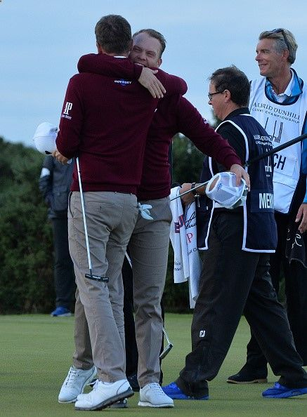 CADDIE TURNS PARTNER TO WIN TEAM CHAMPIONSHIP WITH DANNY WILLETT Birdie putt at final hole clinches a famous victory on the Old Course Ive definitely experienced a little of the nerves that Danny has to cope with in every tournament I cant believe weve won says Jonathan Smart David Horsey  Sir Ian Botham and Tyrrell Hatton  Jamie Dornan fourth Leading amateurs join top professionals in celebration of links golf ST ANDREWS October 9 2016 - Jonathan Smart admitted his hands were shaking ...