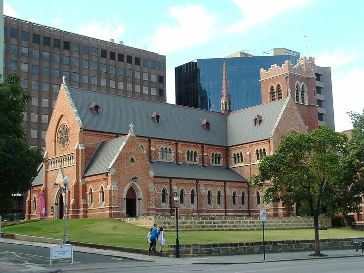 St George's Anglican Cathedral, Perth. My first church. Was baptized and confirmed here.