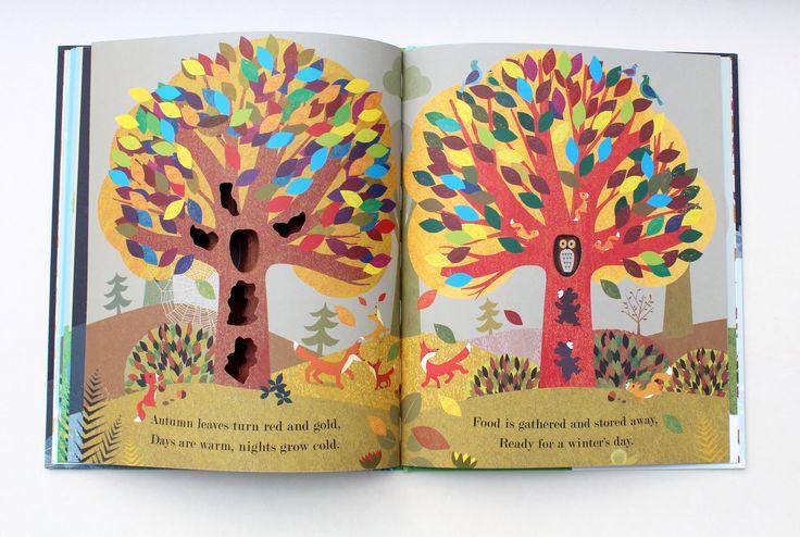 Tree: Seasons Come, Seasons Go en 2019 | Livre anglais