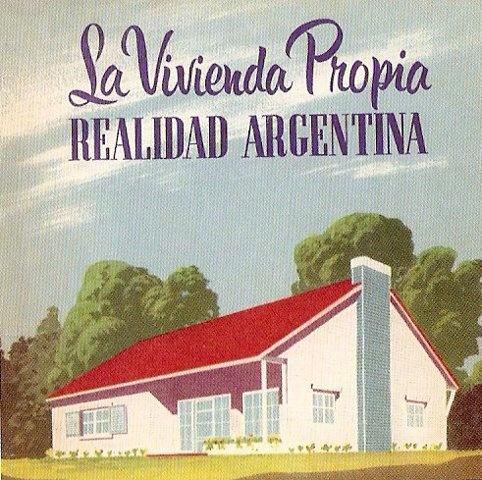 Afiche Projecto Vivienda Argentina