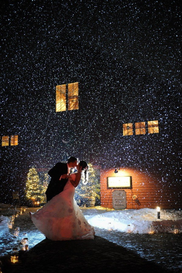 Thinking December wedding would be very pretty :) Except it doesn't really snow in Ohio in December...