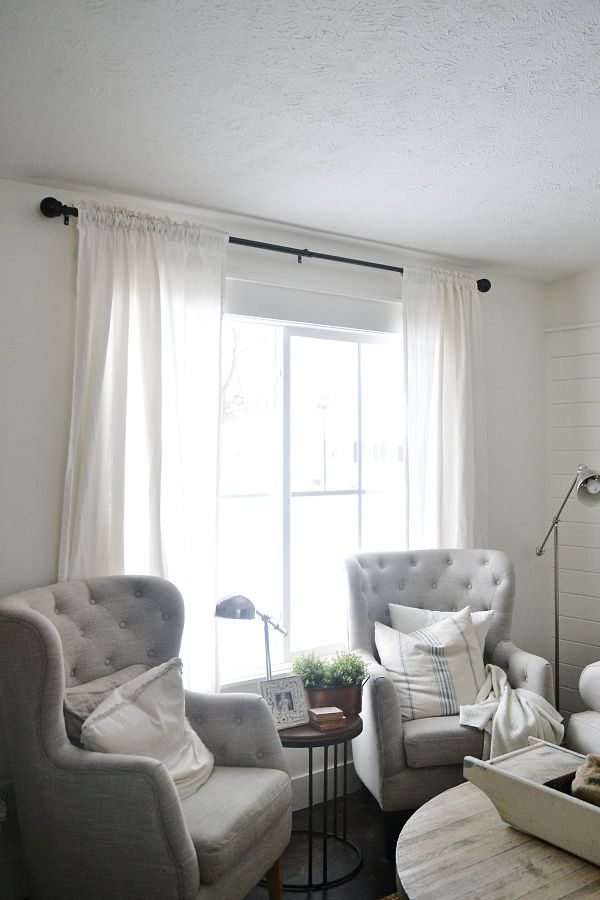 New Curtains Some Diy No Sew Home And Pinterest