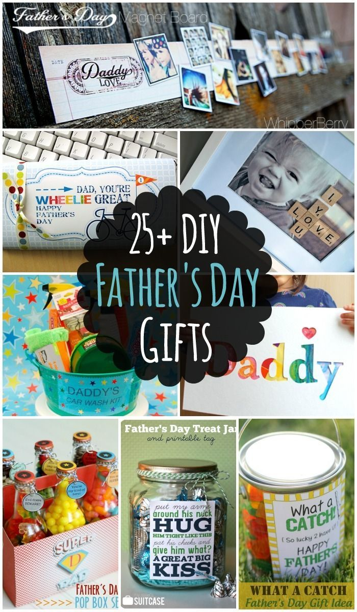 25 DIY Fathers Day Gift Ideas - lots of different DIY Ideas that Dad will love! { lilluna.com }