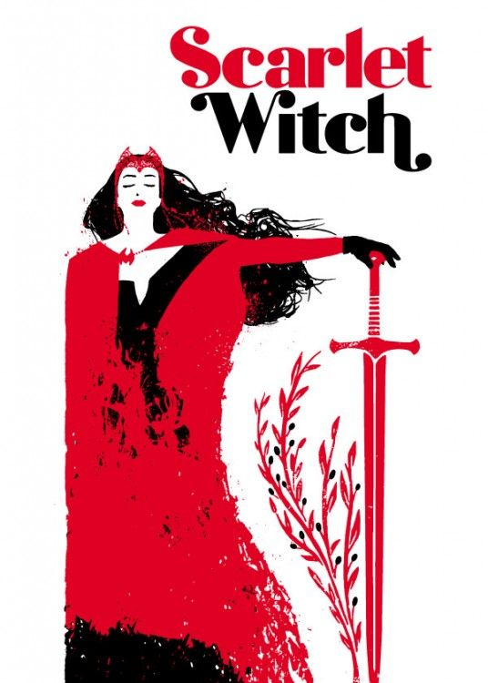 Marvel Scarlet Witch Covers Collection at Wallure: http://wallure.com/index.php/uk/posters/marvel-scarlet-witch-covers-collection.html