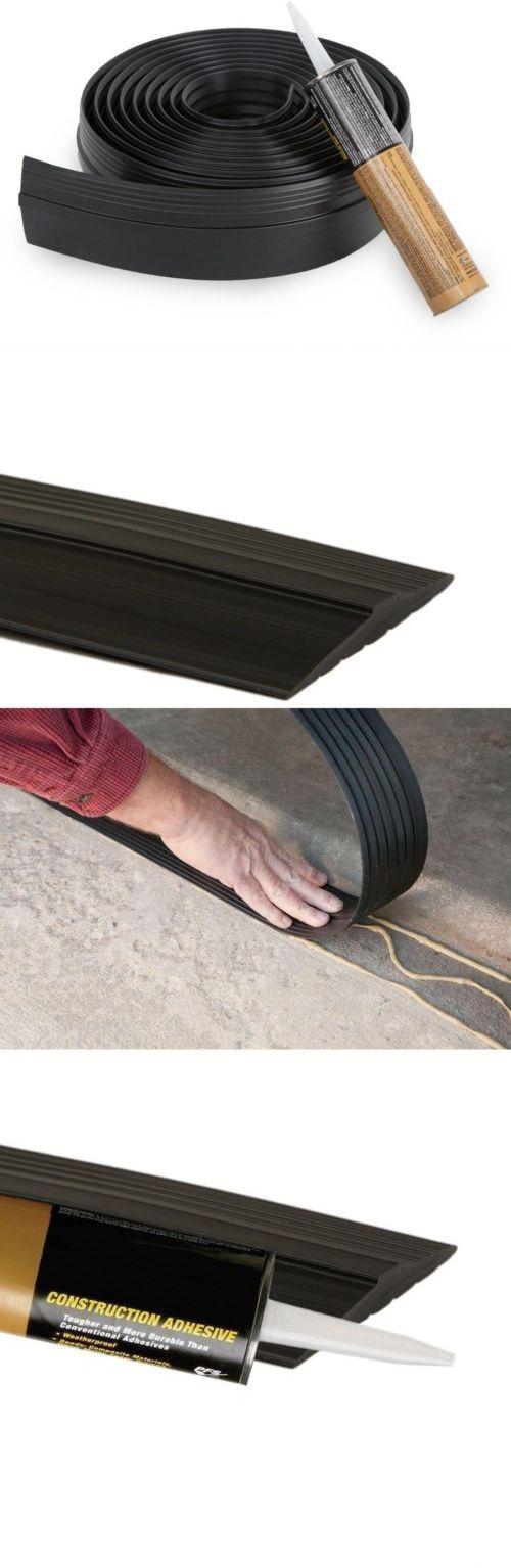 Garage Door Parts and Accs 179687: Garage Door Floor Tighter Seal Threshold Mounted Trim Barrier Cartridge 16Ft Set -> BUY IT NOW ONLY: $62.99 on eBay!