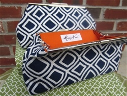 The Maddy Nash Custom Clutch made for DeluxeLife+Style has it ALL.  the fabric is so sturdy and doesn't slouch.  Year-round bag. 10% of every sale goes to charity.