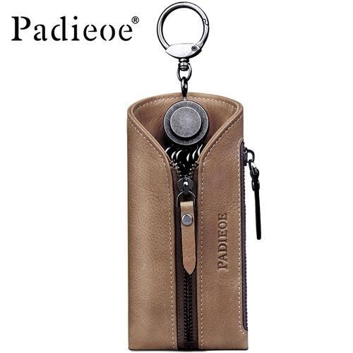 666e859eb685 Travel Housekeeper Genuine Leather Business Key Bags Fashion Key ...