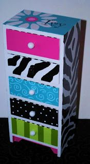 The Decorative Paintbrush, Designs by Mary Mollica: Jewelry Boxes