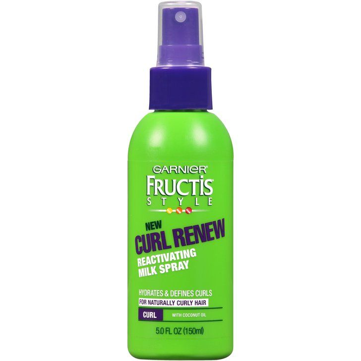 Pin for Later: 10 Drugstore Hair Care Products Top Stylists Absolutely Love Garnier Fructis Curl Renew Reactivating Milk Spray