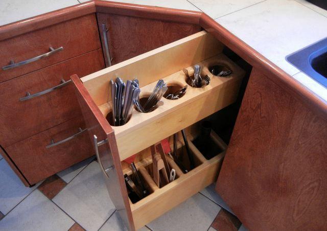 corner kitchen sink cabinet ideas - Kitchen Corner Cabinet Ideas
