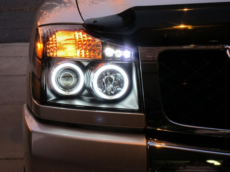 Halo Headlights...they all look the same - Nissan Titan Forum