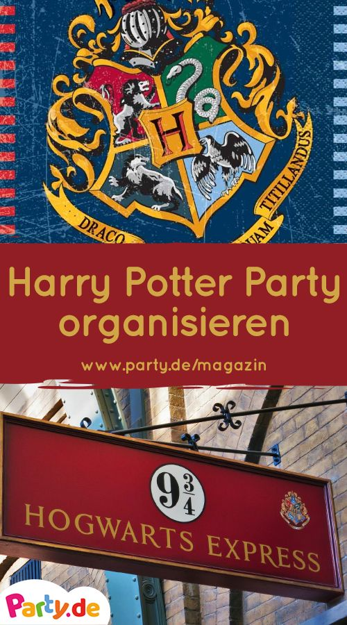 Harry Potter Party – Magical ideas for your fantastic theme party