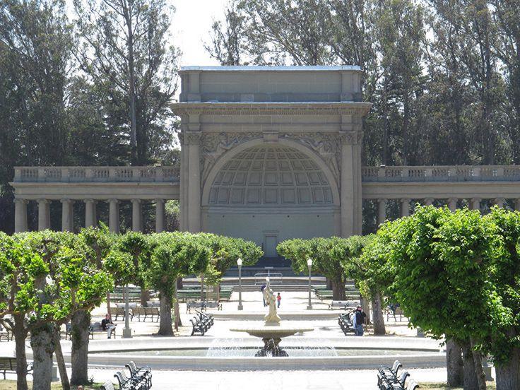 Парк Золотые ворота в Сан-Франциско