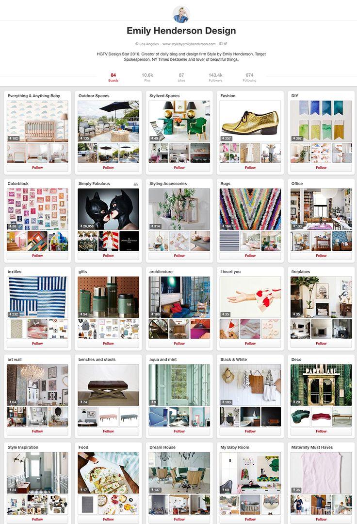 Em Henderson - 10 design accounts to follow on Pinterest