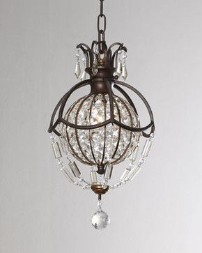 Bellini One-Light Mini Pendant - Traditional - Pendant Lighting - Horchow