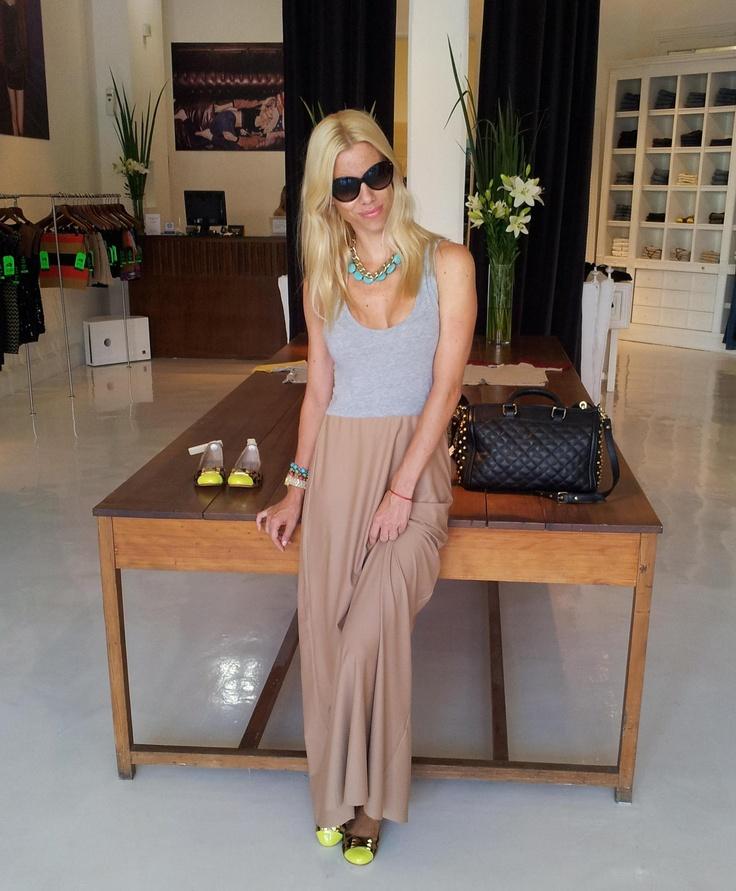 Nicole Neumann: Vestido Ettore - Chataitas Alessia