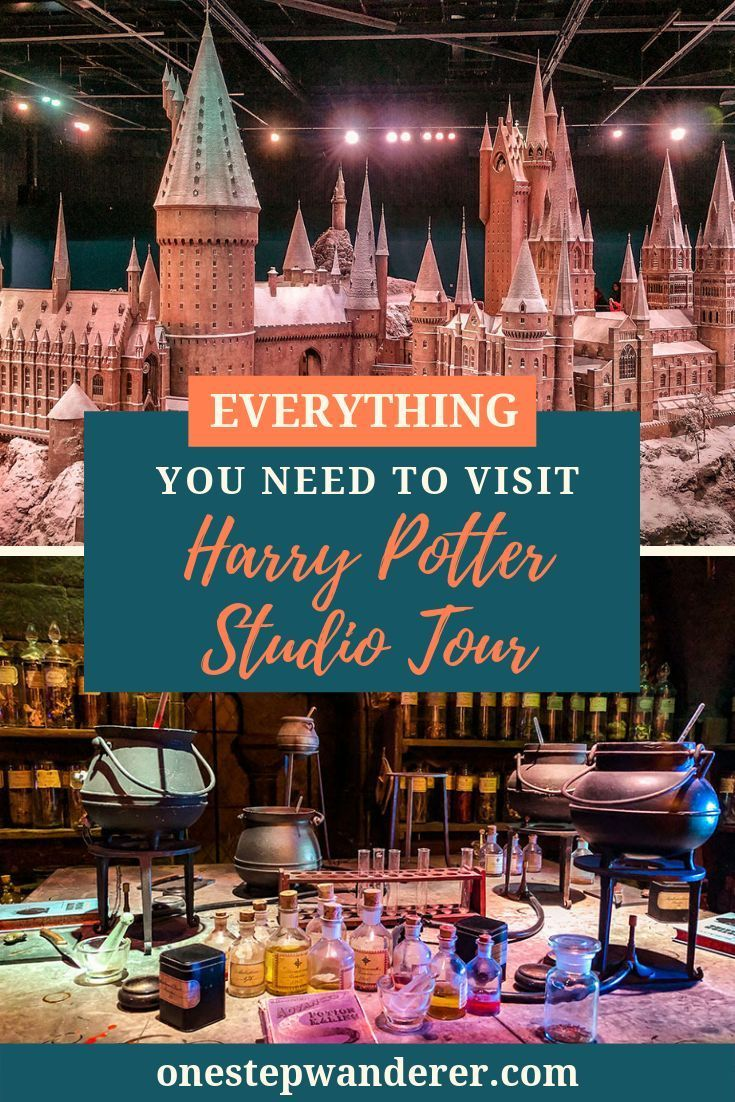 Everything You Need To Know To Visit The Harry Potter Studio Tour Harry Potter Studios Harry Potter Studio Tour Warner Brothers Studio Tour