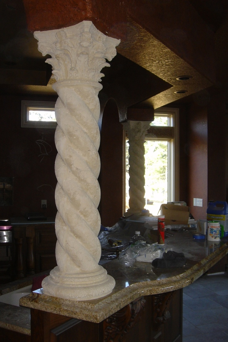 17 Best Images About Columns Decor On Pinterest Faux