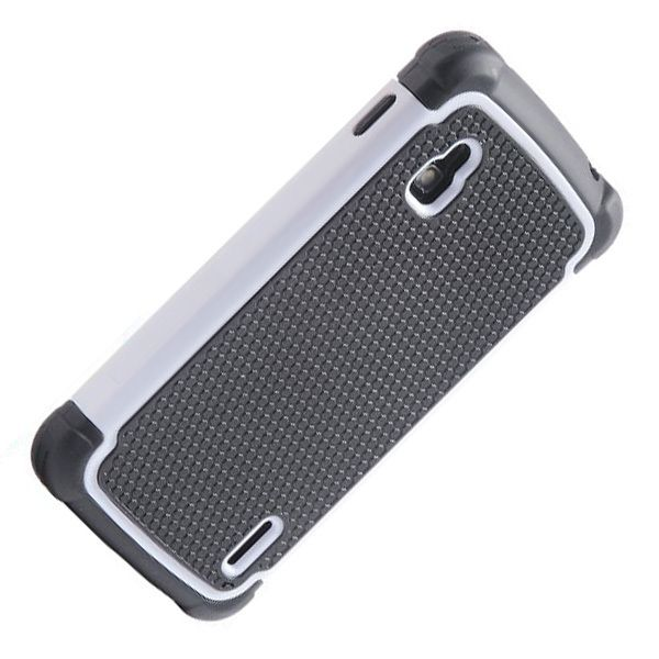 New Case - White Heavy Duty LG E960 Nexus 4 Impact Hybrid Hard Case Cover, $9.95 (http://www.newcase.com.au/white-heavy-duty-lg-e960-nexus-4-impact-hybrid-hard-case-cover/)