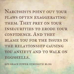 GPS-Grace Power Strength: The Narcissistic Sociopath & Denial