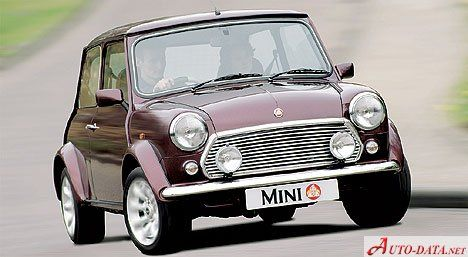 Rover Mini MK I - full technical specifications and an image gallery available for free: engine type and displacement; fuel; rims; year of putting into production; torque , etc