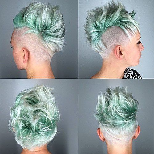 40-Short Pixie Haircuts - Short Mohawk ~ via http://therighthairstyles.com/20-short-pixie-haircuts-femininity-and-practicality/