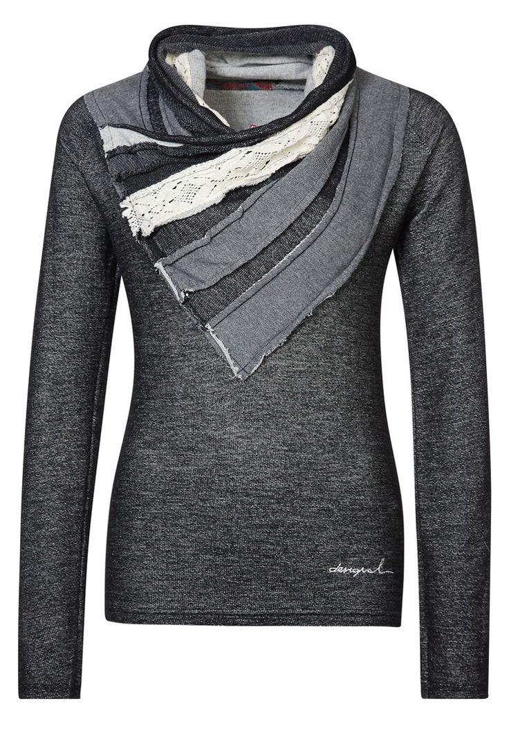 Farb-und Stilberatung mit www.farben-reich.com - Desigual - Sweater - Black :)