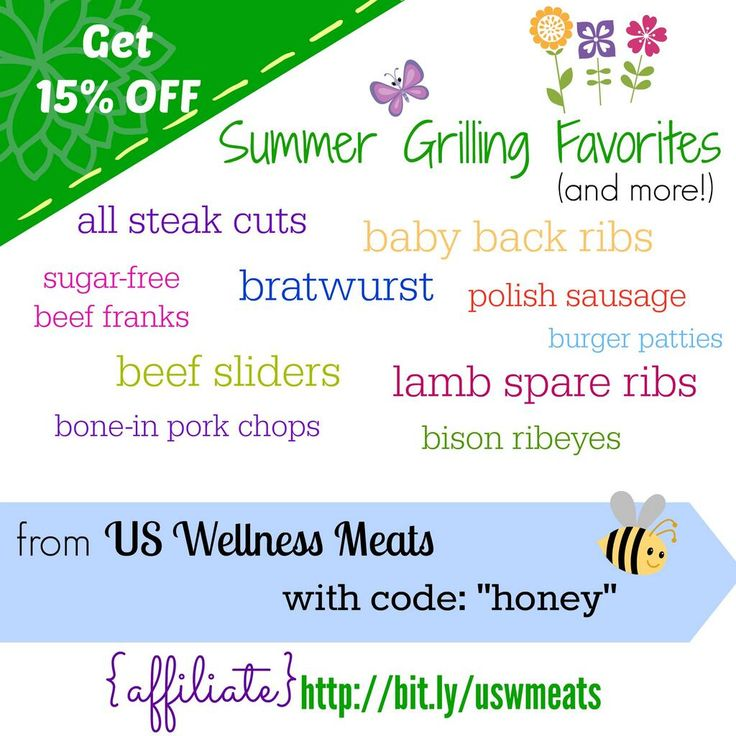 84 best giveaways deals images on pinterest paleo book and coding 15 off your order of us wellness meats with coupon code honey fandeluxe Image collections