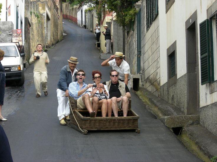 Madeira, carros de cesto