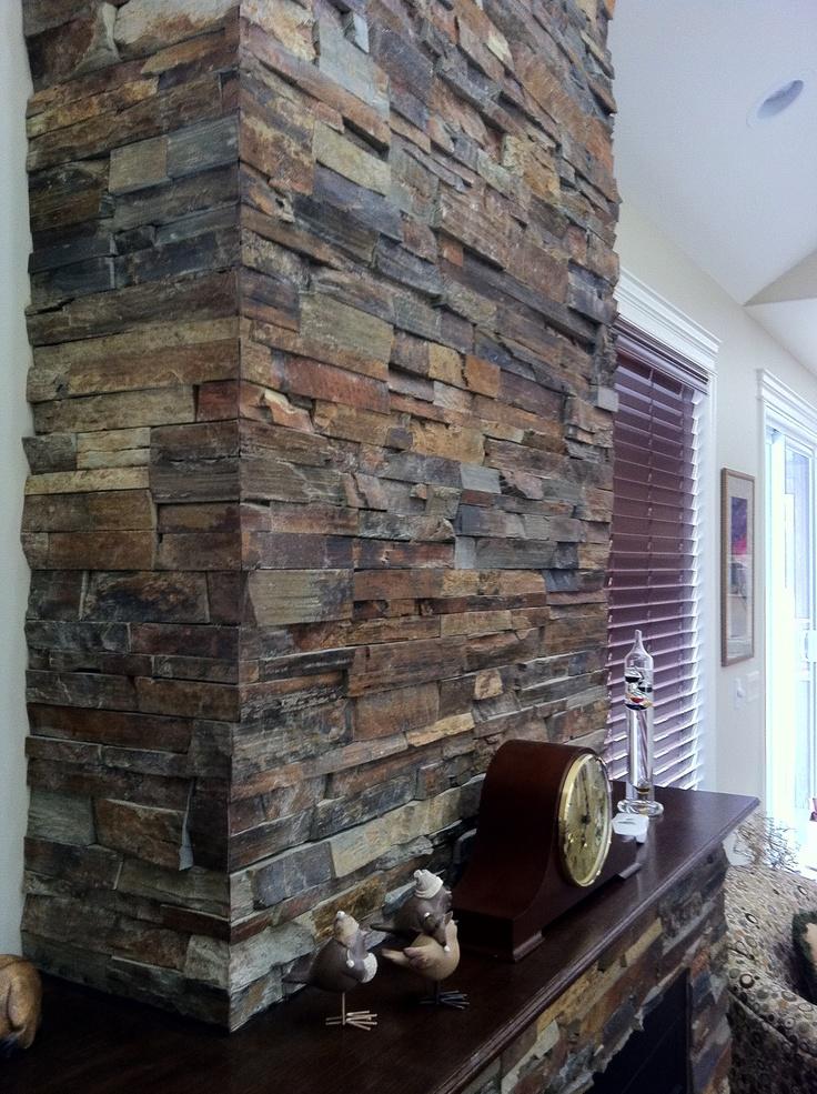 Slate ledge stone