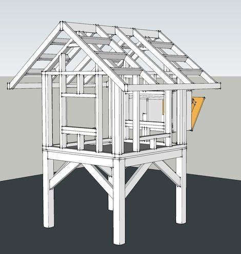 Free Printable Chicken Coops Blueprints   Chicken Coop / Building Plans
