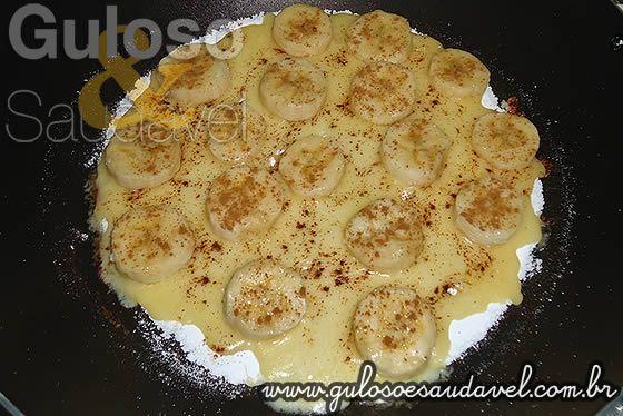 Receita de Tapioca de Banana com Queijo