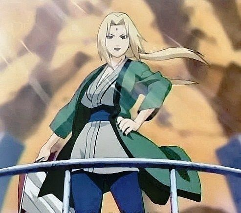 Naruto day 4 Favorite Hokage Lady Tsunade!  :)