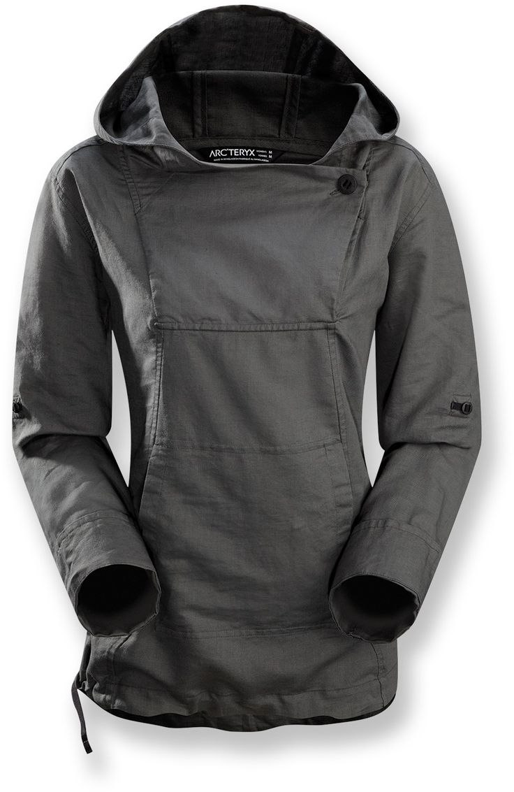Need a no-cotton, no-zip hoodie. Arc'teryx C'esta Hoodie - Women's - Free Shipping at REI.com