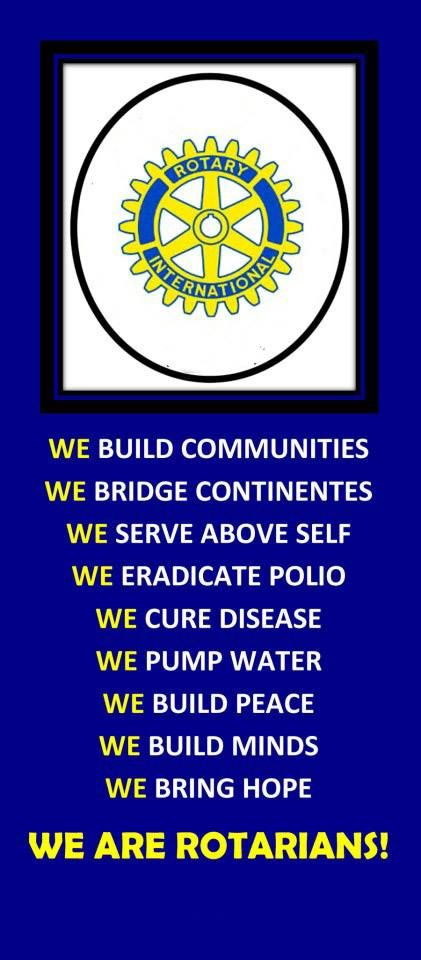 We are rotarians
