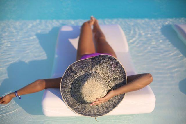 Nikki Beach Portoheli, summer pool chillin