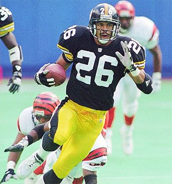 Hall of Fame defensive back, Rod Woodson