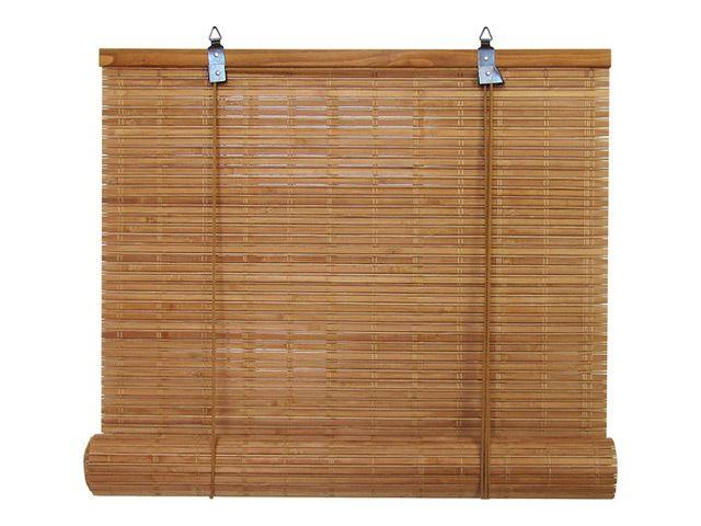 штора рулонная Кабуки бамбуковая 140х160см светлый дуб