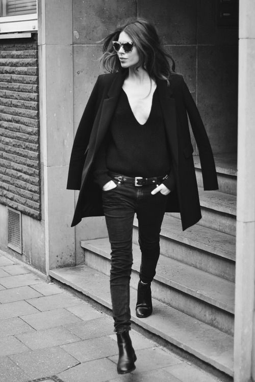 Inspiration: La Parisienne et son allure chic décontractée, un brin androgyne. Miriam Lasserre- Personal Shopper Paris.